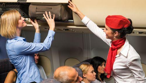 A320 Family para comissários: Interior da cabine