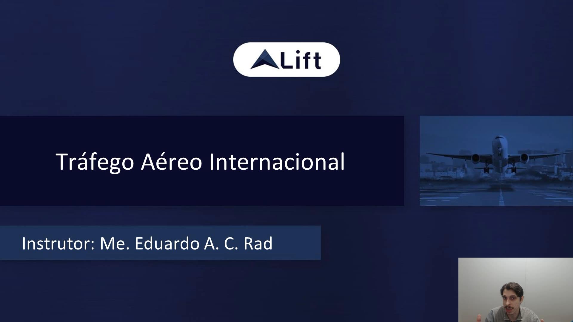 TAI: Tráfego Aéreo Internacional