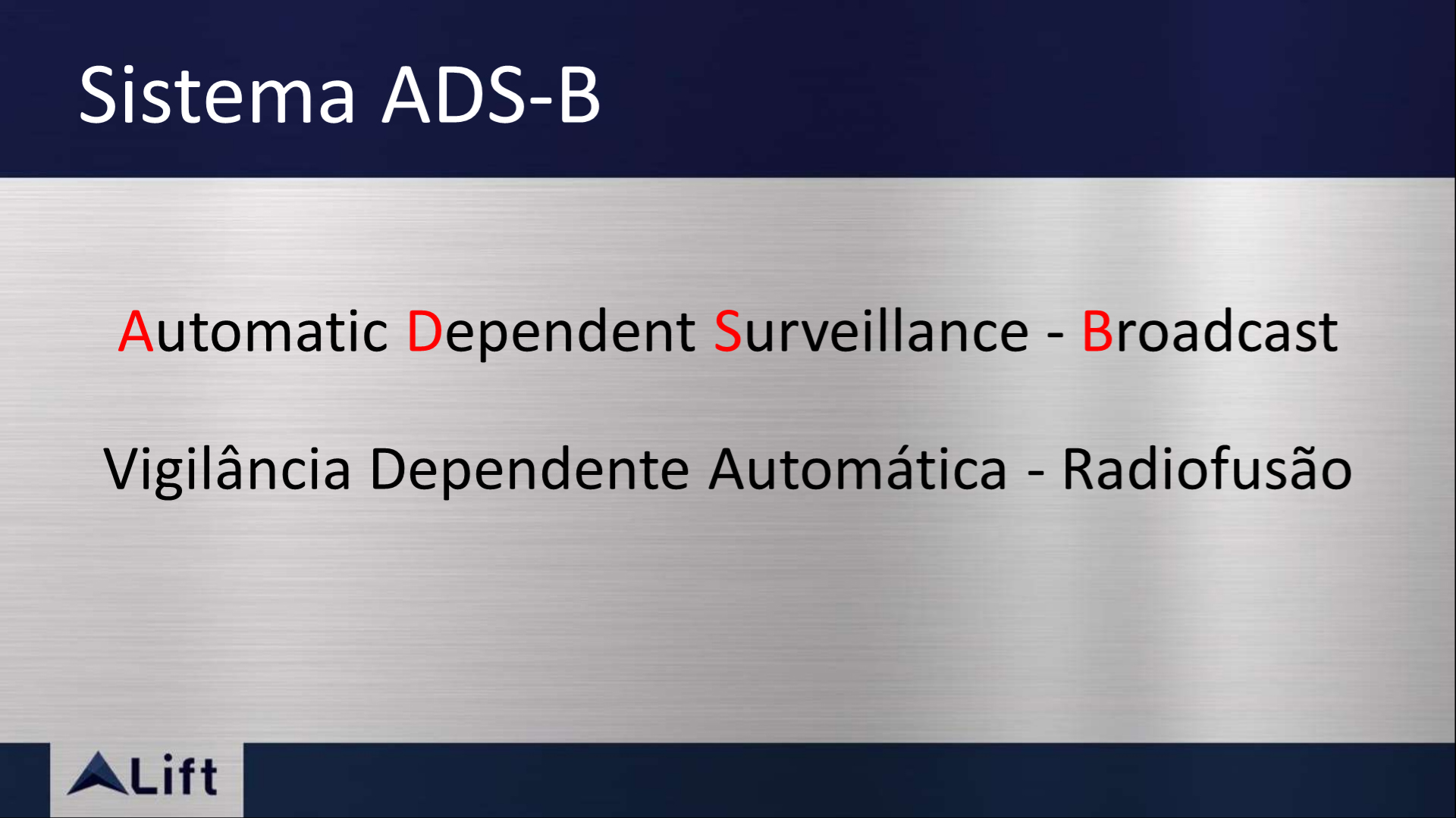 ADS-B: Automatic Dependent Surveillance